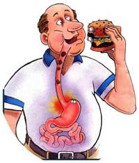 Причины изжоги от еды