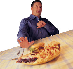 Лечение изжоги — отказ от вредной пищи