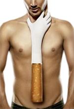 курение провоцирует появление изжоги