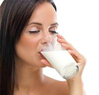 Молоко - быстрое избавление от изжоги