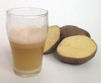 Сок картофеля быстро снимет приступ изжоги