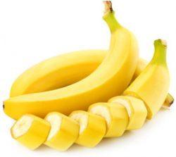 порезанные бананы