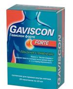 пачка Gaviscon Forte