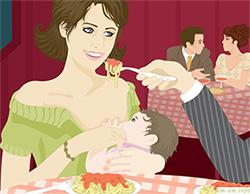 Изжога у кормящей мамы из-за плохого режима питания