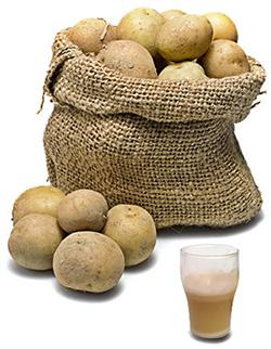 Картофельный сок помогает от изжоги
