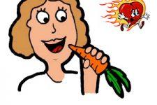 Морковь от изжоги - помогает или нет?