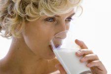 Молоко помогает от изжоги