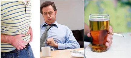 Влияние алкоголя на появление изжоги