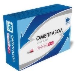 пачка лекарства «Омепразол»